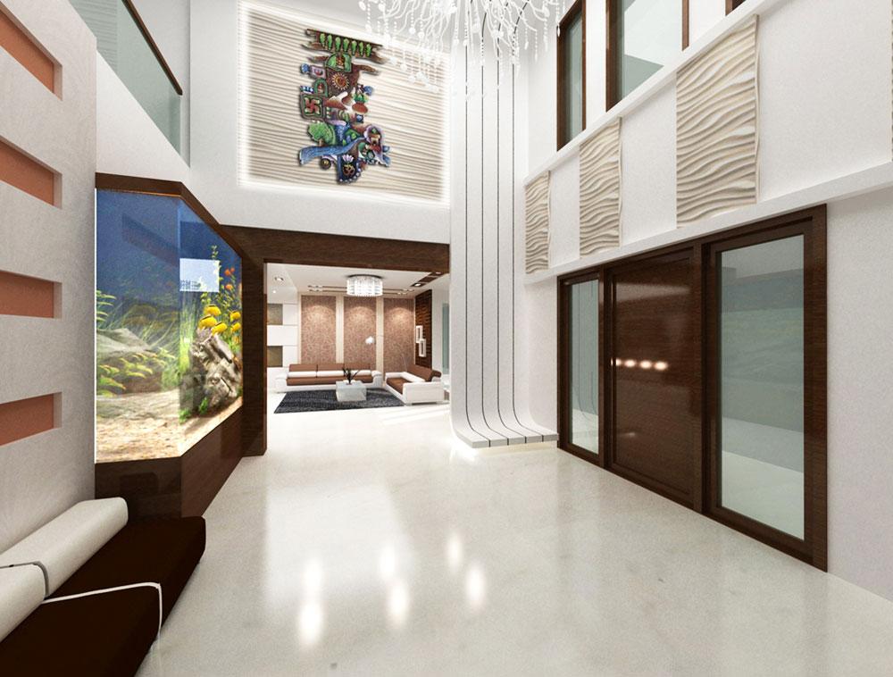 3D Interior Design. Foyer